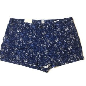 Gap Blue Floral Shorts